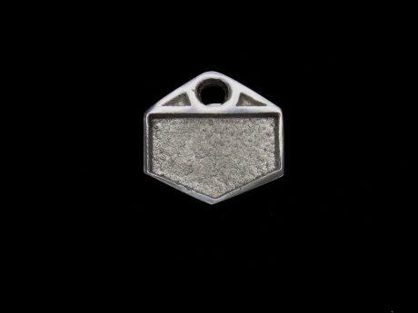 medalha hexagonal.